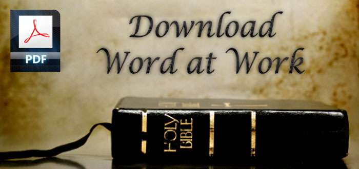 Download Word at Work Bible Study